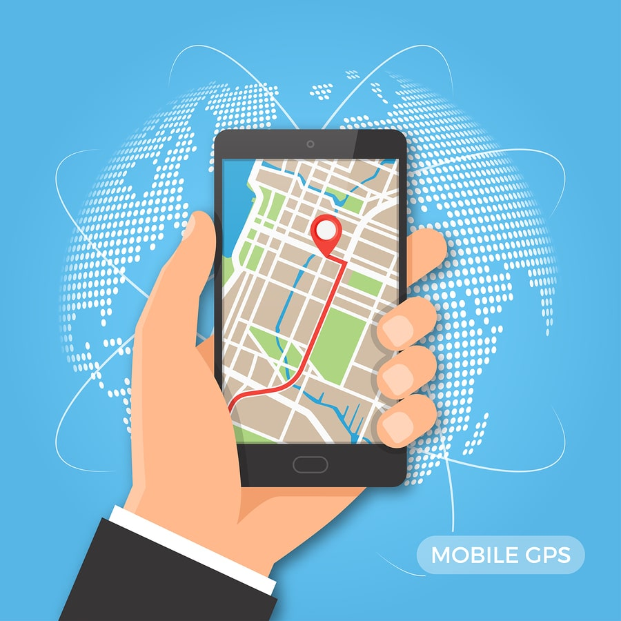 GPS Tracking per Smartphone